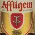 affligem blond logo by brouerij affligem